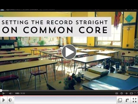 Setting the Record Straight on Common Core - Part 1