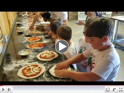 Pizza Making Day - Video Clip #4 - Summer Camp, Day 7 - June 27, 2017
