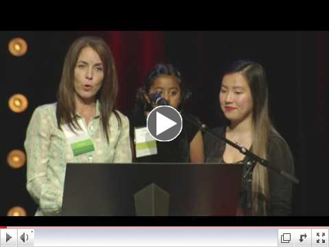 Neeti Vemparala and Grand Ridge Principal Christy Otley Speak at Nourish Every Mind 2016