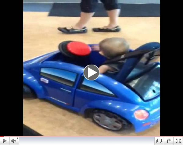 Utah toddler gets Go Baby Go car with UATF grant