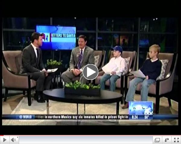 Bradfield students Jack and Truman were featured on WFAA's Good Morning Texas this morning with Make-A-Wish CEO