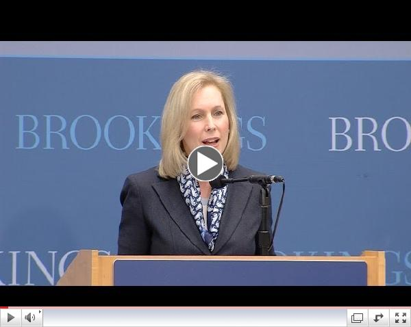 Social Mobility Summit: Keynote Remarks by Senator Kirsten Gillibrand