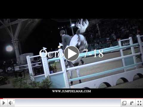 2015 Del Mar International Horse Show Trailer