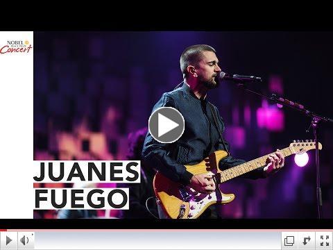 JUANES - 'Fuego' -Concierto Nobel de la Paz