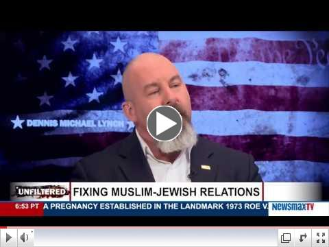 Rabbi Marc Schneier interview on Newsmax TV