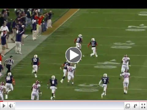 Auburn Game Winning Missed Field Goal TD Return vs Alabama