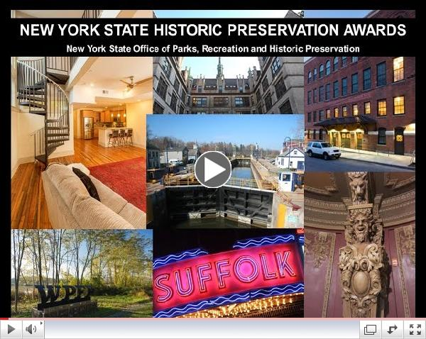2014 New York State Historic Preservation Awards