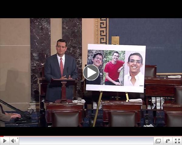 Sen. Cruz: Hamas Must Return Kidnapped Boys