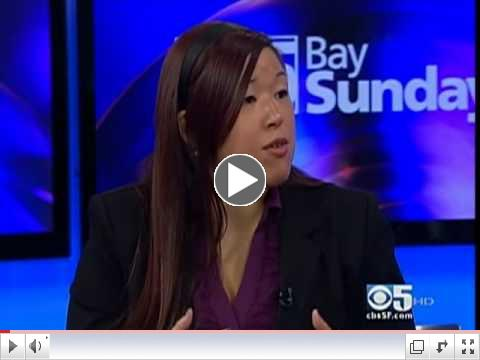 AsianWeek Foundation's Angela Pang on the May 8 edition of CBS 5's Bay Sunday to promote the upcoming street fair.