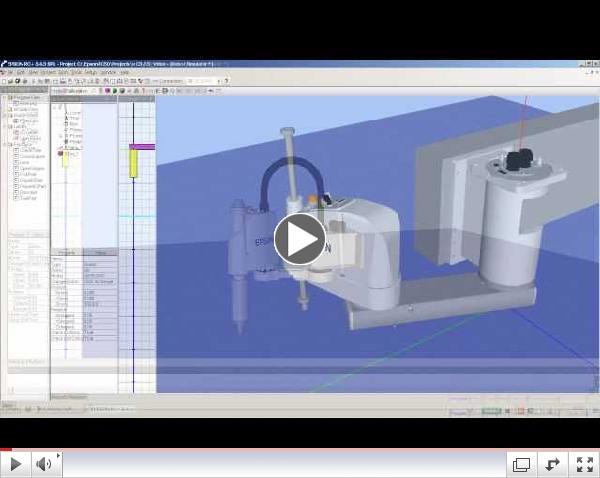 EPSON RC+ 5.0 Robot Simulator Software