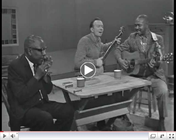 Pete Seeger, Sonny Terry, Brownie McGhee - Down by the Riverside