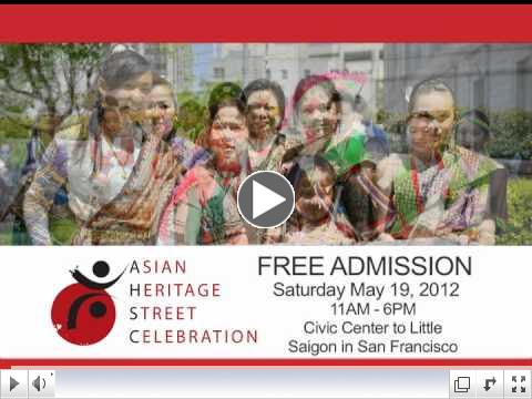 8th Annual Asian Heritage Street Celebration 30-Second Commercial Spot
