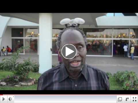 Ngugi arrives at Banjul Airport on 13 Jan