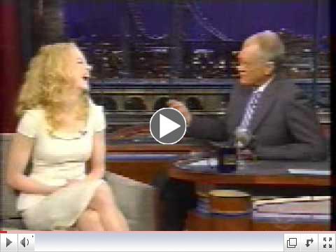 Nicole Kidman on David Letterman