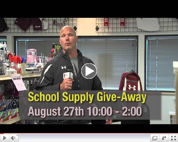 North Idaho College - Wrestling School Supply Drive