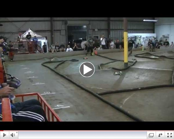 Open 4wd Buggy A Main at Rainmans Hobbies Round 6 2013 JBRL Electric Series