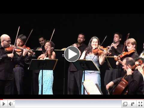 ECCO plays Mozart Symphony no. 29 K.201, I - Allegro Moderato