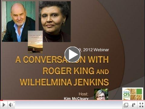A Conversation with Roger King and Wilhelmina Jenkins