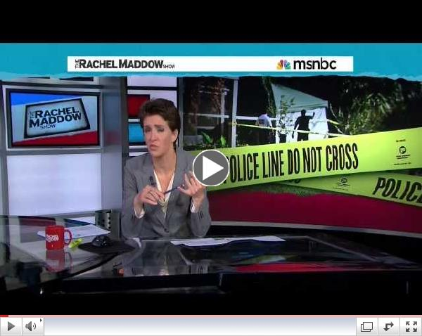 Rachel Maddow Updates Shooting of Florida Muslim by FBI (CAIR-FL)