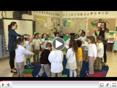 Mrs. Reilly's Pre-K Frogs sing Palm Sunday Song!