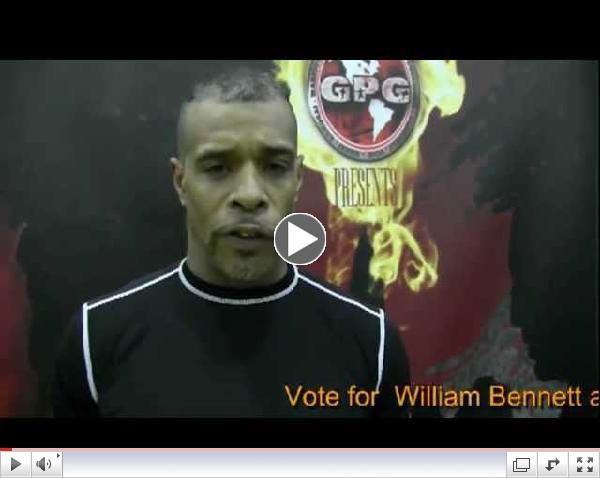 William Bennett Warrior Island Fighter & Coach Tryout Video