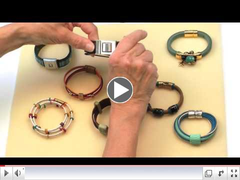 Designing Elements for Leather or Cord Bracelets