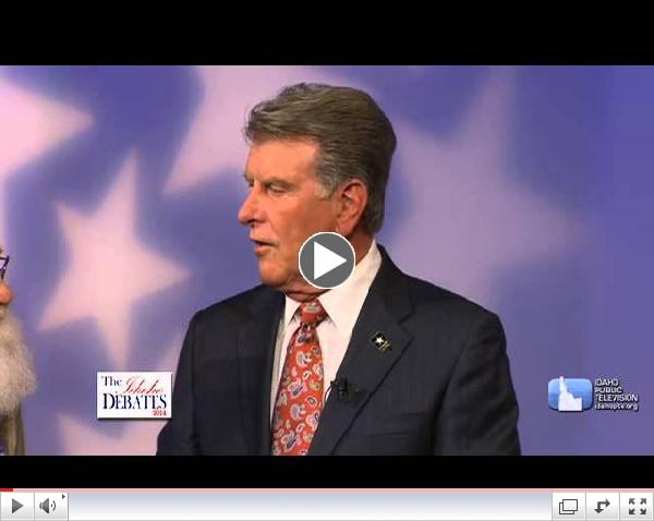 Idaho GOP Governors Primary Debate (May 14, 2014)