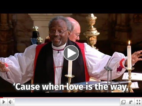 A 1-minute clip from the sermon everyone is talking about