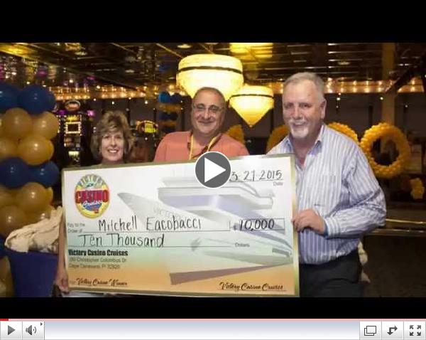 Victory Casino Cruises Celebrates Millionth Passenger at Port Canaveral