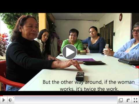 ESPERA women in Mexico discuss how they are impacted by free trade and economic problems
