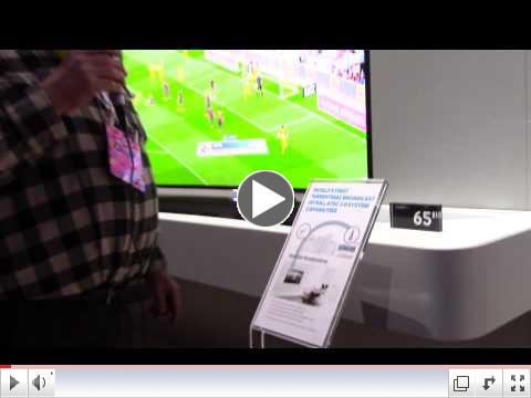 ATSC 3.0 4K Broadcast TV standard candidate at CES 2015