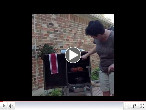 Smoked Pork Loin with Mushroom Gravy Video by Chef Sandy