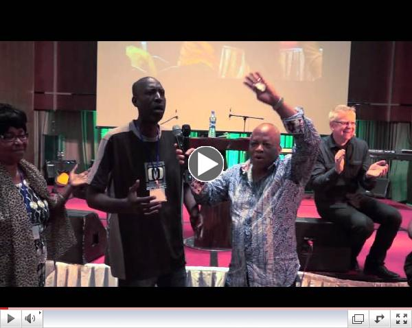 Nigeria - A man is healed after a brain hemorrhage and stroke