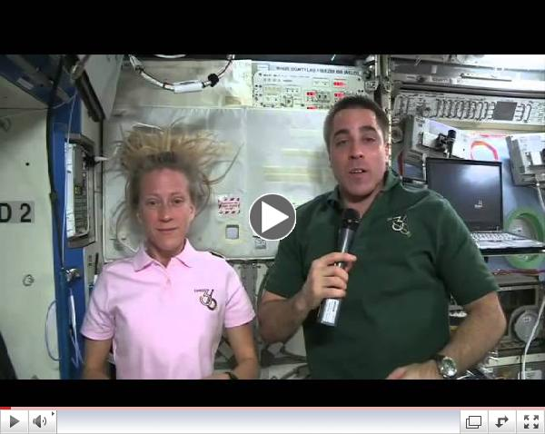 Globe-athon: Message from the International Space Station