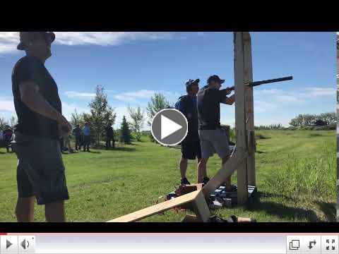NHL Alumni participants at the Clays for the Cottage