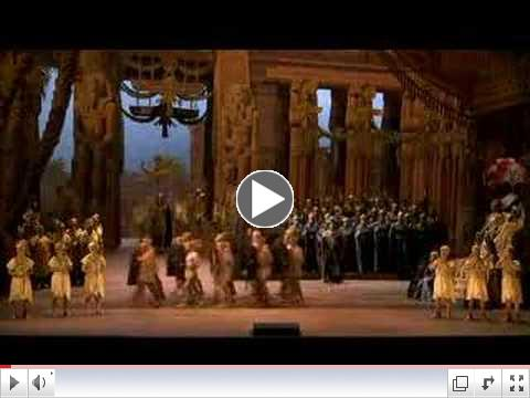 The Grand March from the opera Aida, set in ancient Egypt