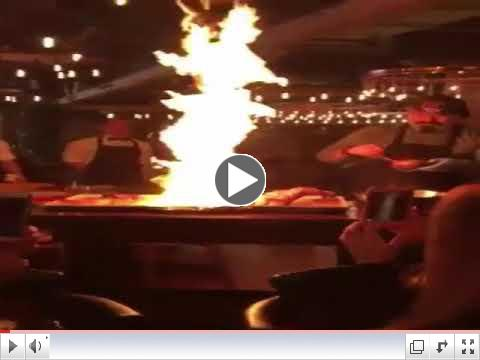 Overzealous Chef Sets Off Fire Suppression Sprinklers