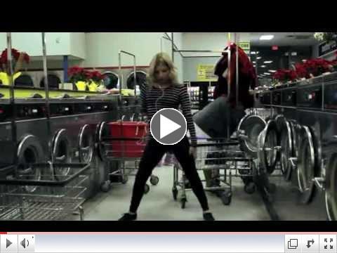 Chick Dances Up A Storm In Laundromat Video - Full Version Dancer: Angela Trimbur
