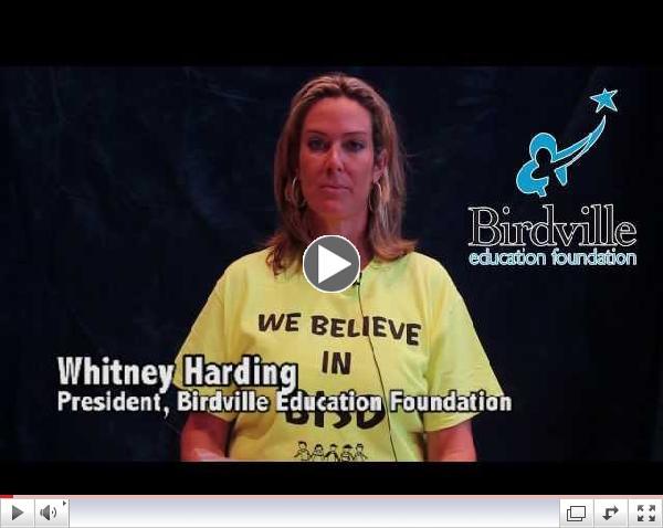 2013 Birdville Education Foundation Grant Information