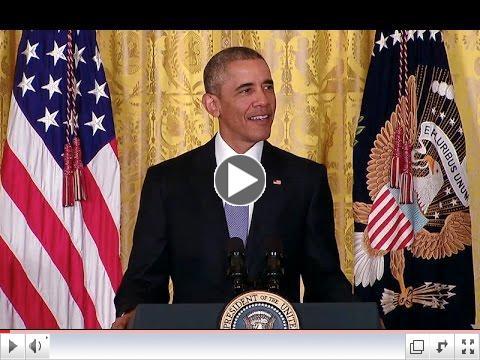 video image of president obama