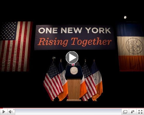 Mayor Bill de Blasio Delivers 2014 State of the City Address