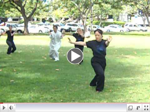 First Tai Chi Form We Learned; Apr. 28, 2012
