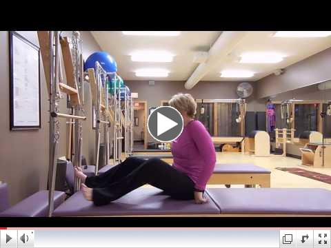 The Pilates Anti-Sit Up Exercise!