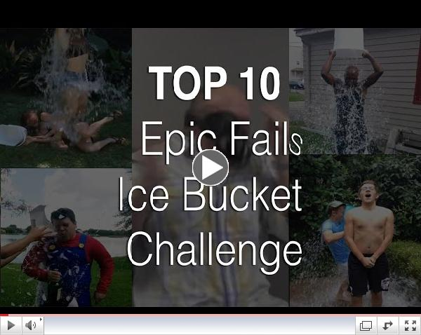 ALS ICE BUCKET CHALLENGE  TOP 10 EPIC FAILS COMPILATION