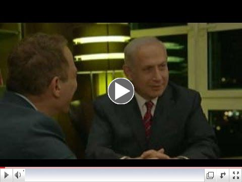 WATCH: Up close and personal with Benjamin Netanyahu