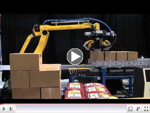 FANUC M-410iB Intelligent Picking - FANUC Robotics Industrial Automation