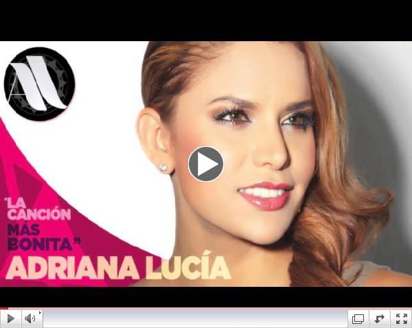 La Canción Más Bonita - Adriana Lucía (Audio)