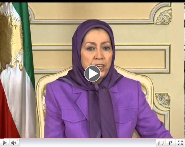 Maryam Rajavi's statement on the eve of Iranian regime's sham election