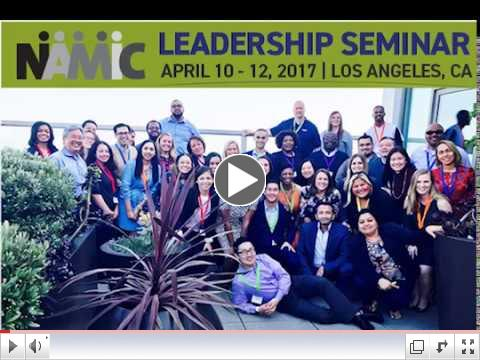 NAMIC Leadership Seminar Class Video