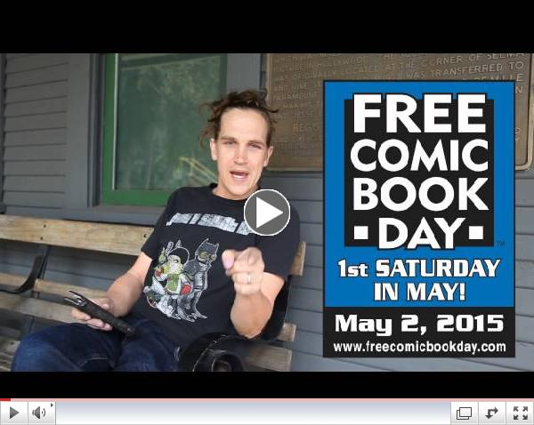 Jason Mewes Wants You To Check Out Free Comic Book Day!